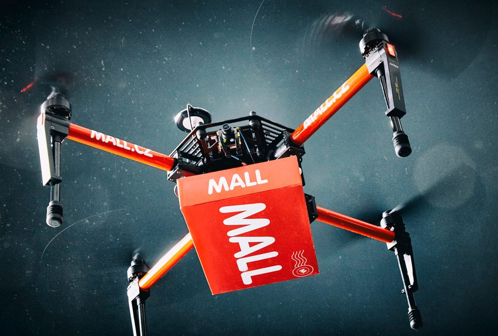 Mall.cz Successfully Tests Drone Delivery. Package Delivered in Three Minutes