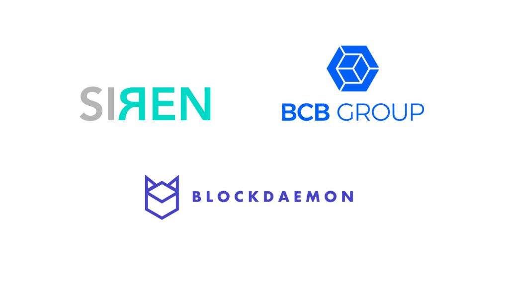 Rockaway Blockchain Fund invests in three more DeFi projects: BCB Group, SIREN Markets, and Blockdeamon