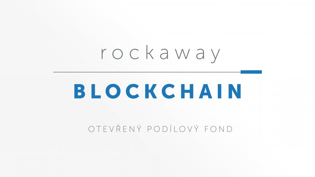 Rockaway Blockchain Fund zakládá otevřený podílový fond, investovat do něj půjde iprostřednictvím J&T Banky